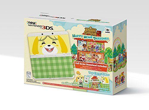 Nintendo Animal Crossing: Happy Home Designer + New 3DS Bundle $240