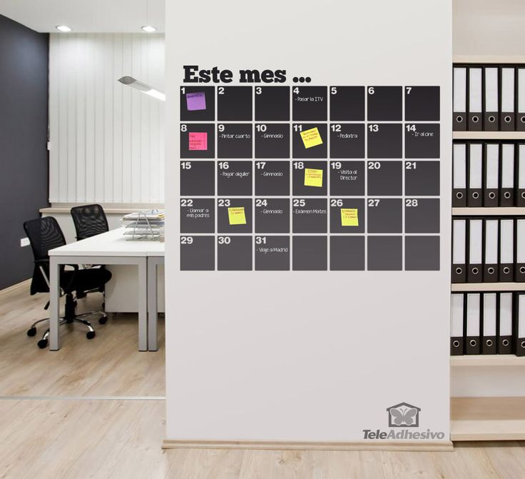 print weekly calendar on post its - Google Search