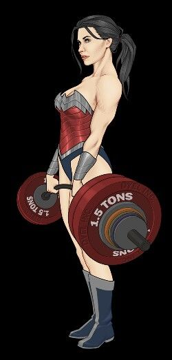 Wonder Woman. This is my minds eye view of my sister.