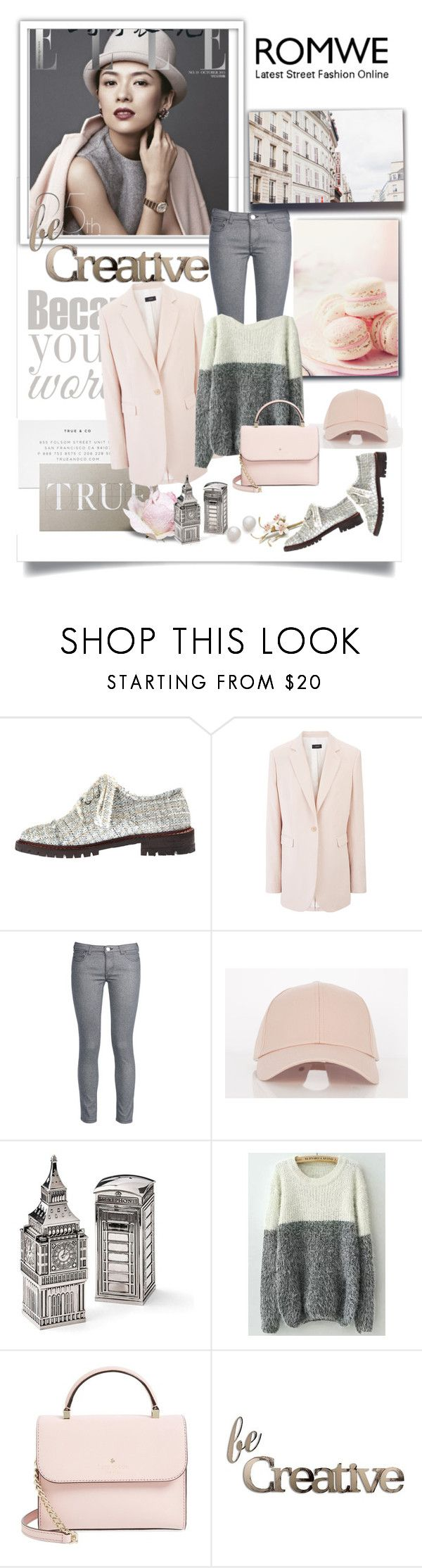 """Bez naslova #567"" by gracijelaj ❤ liked on Polyvore featuring Anouki, Joseph, George J. Love, Gump's, Kate Spade, Letter2Word and Kenneth Jay Lane"
