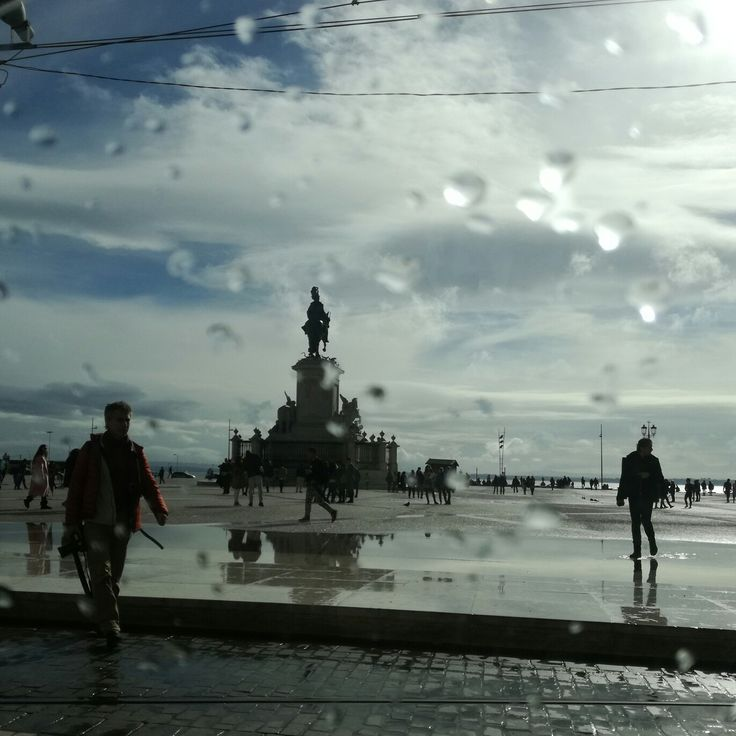 Lisbon after the rain