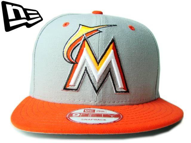 【ニューエラ】【NEW ERA】9FIFTY USカスタム MIAMI MARLINS マイアミ・マーリンズ グレーXオレンジ スナップバック【CAP】【newera】【帽子】【フロリダ】【MLB】【snapback】【アメリカ】【snap back】【MLB】【メジャー】【グレー】【黒】【あす楽】【楽天市場】