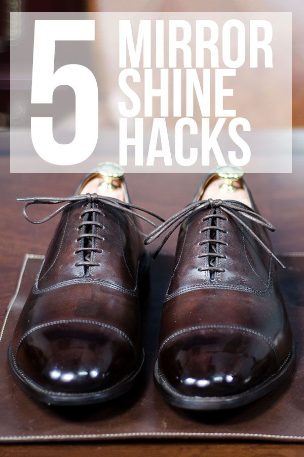 2f30e49ed40 How to Polish Shoes to a Mirror Shine - 5 Easy Hacks from Kirby ...