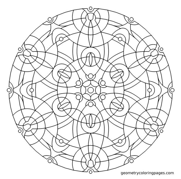 Mandala 535 Add AdhdMandala ColoringAdult