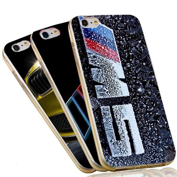 Ultra Thin Crystal Clear Soft TPU Slim Silicon Phone Case For BMW  For iPhone 4 4S 5C 5 SE 5S 7 6 6S Plus Cover