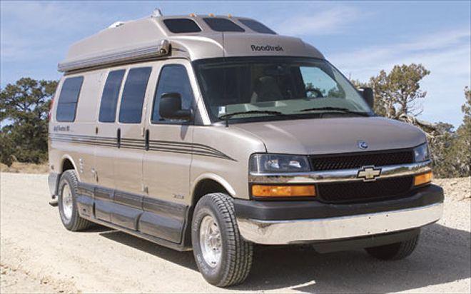 chevrolet 3500 Minivan Camper font View