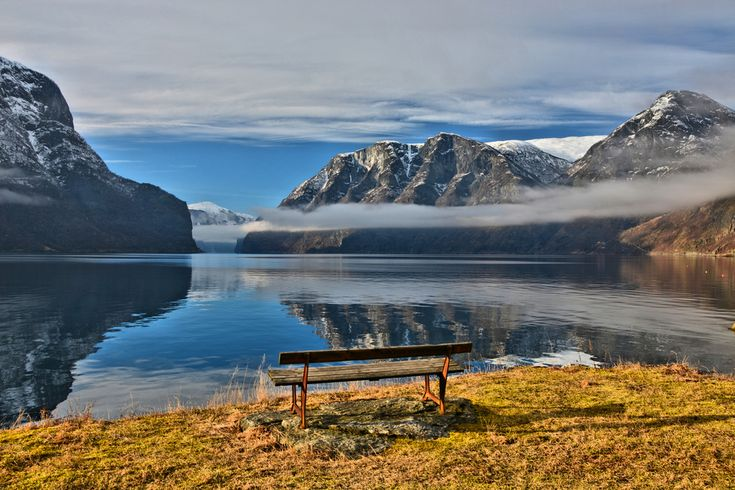 Tranquility by the Aurlandsfjord