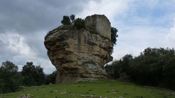 El Castell de Castellcir, o de la Popa