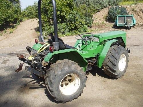 Ferrari Farm Tractor Pasquali California Ebay Tractors