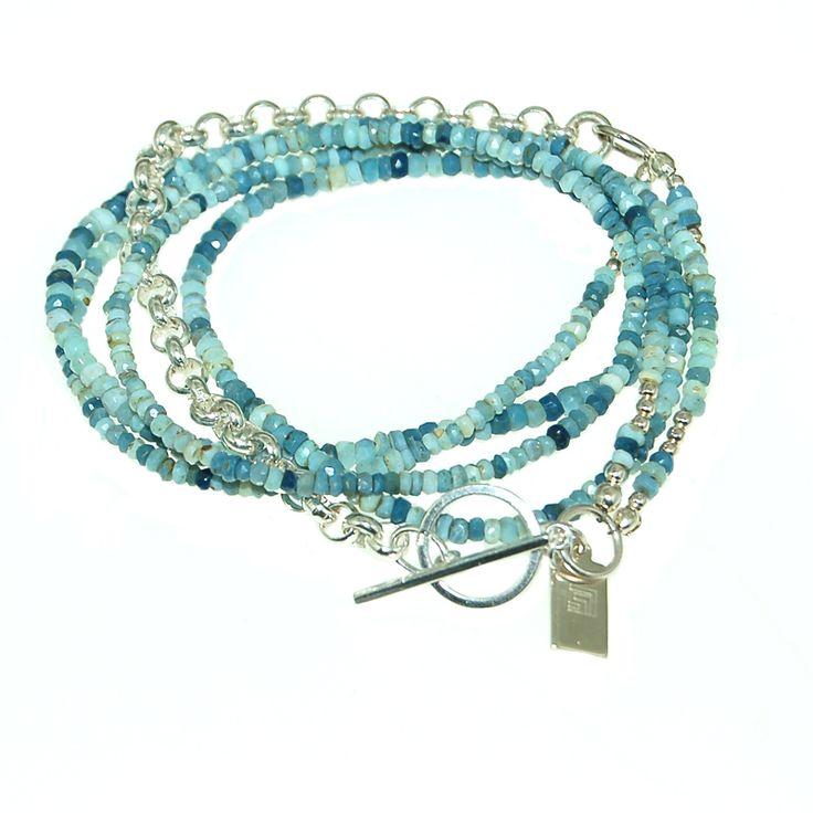 Blue Opal Bracelet (B388R) $325