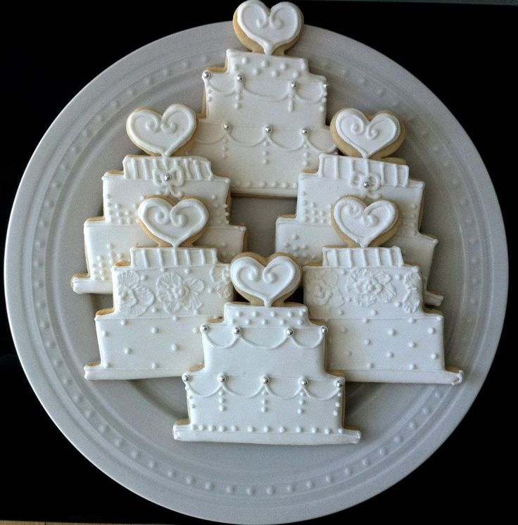 iced wedding cake cookies 164 best images about wedding cookies on 16245