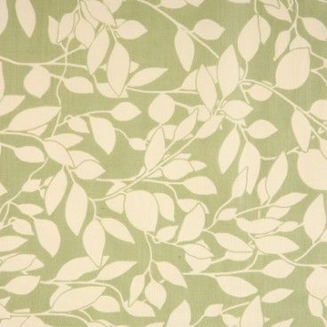 Leaf Trail Green oilcloth