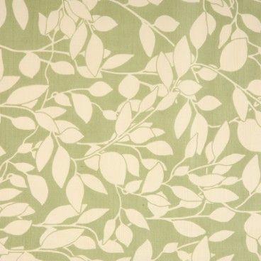 Leaf Trail Green oilcloth