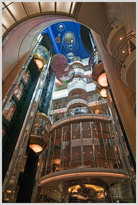 Adventure of the Seas.: Sea Elevator, Interiors, Elevator 123Goinspir, Posts