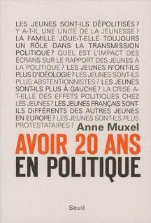 Le Bouquinovore: Avoir 20 ans en politique