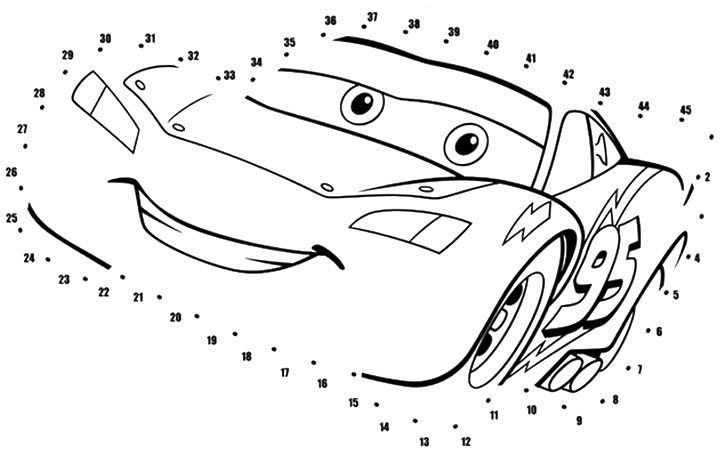 Top 10 Free Printable Lightning McQueen Coloring Pages Online