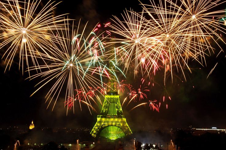 PARIS, FRANCE Fireworks illuminate the Eiffel Tower during Bastille Day celebrations on July 14.Pictures of the week: July 17, 2015