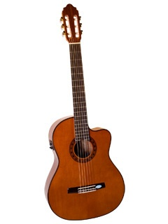 Saga Valencia Cutaway Classical Guitar