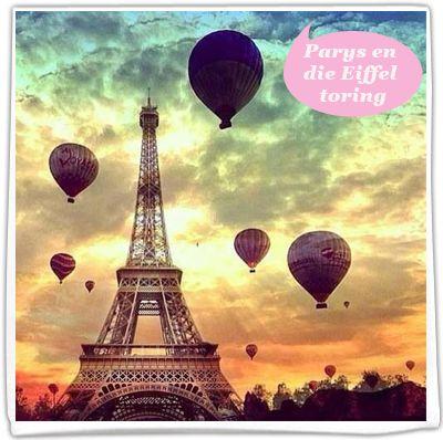 Parys en die Eiffel toring
