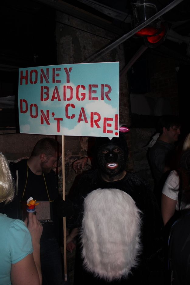 Honey Badger | Pictures From The Best Internet Party Of The Year: Hallowmeme