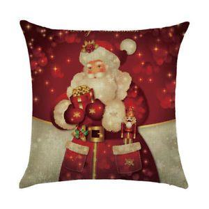 18-034-Christmas-Cushion-Cover-Santa-Claus-Pattern-Square-Pillow-Case-dog-Sofa-Car
