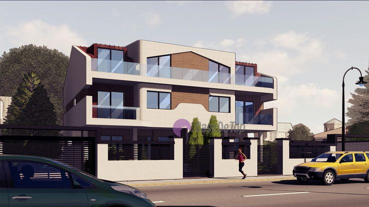 Case cuplate moderne organizate functional eficient pe parter, etaj si mansarda   Duplex single-family homes