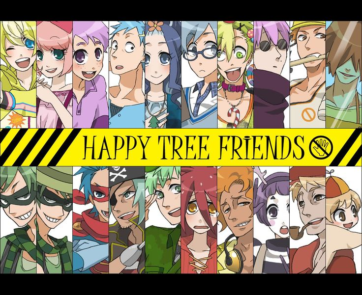 happy tree friends anime | Human Happy Tree Friends Anime HTF