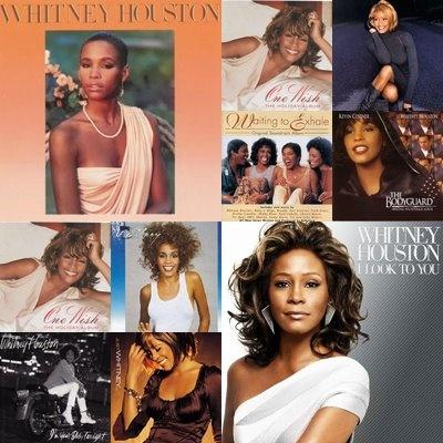 Whitney's albums