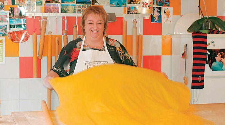Ravioli with rosemary by Chef Alessandra Spisni!