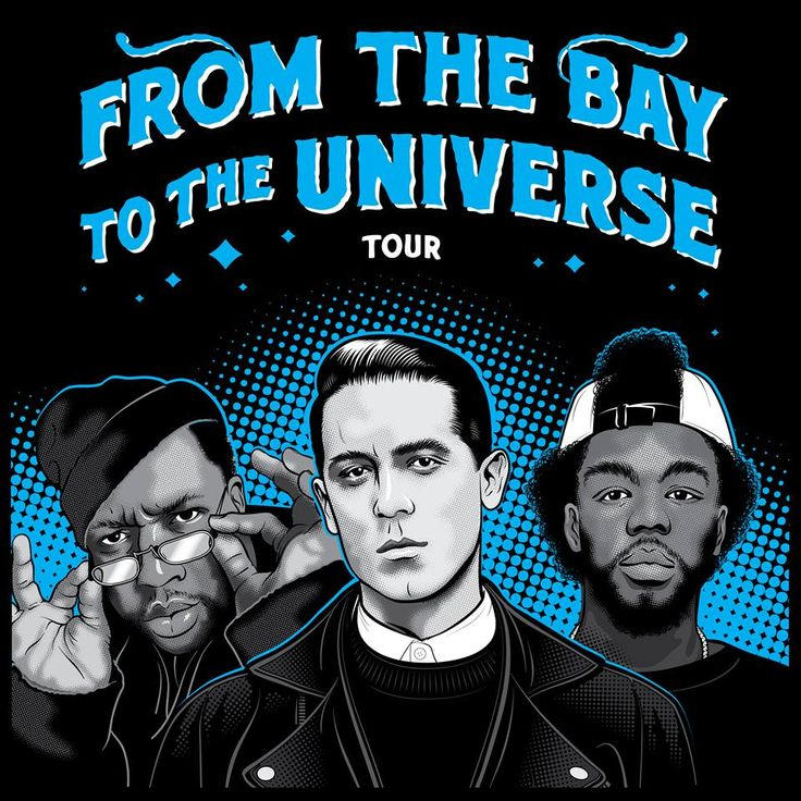 "NEWS: The hip-hop artist, G-Eazy, has announced a fall tour across the United States, called the ""From The Bay To The Universe Tour."" Joining as support will be E-40, IAMSU and Jay Ant. You can check out the dates and details at http://digtb.us/1CF7v1P"