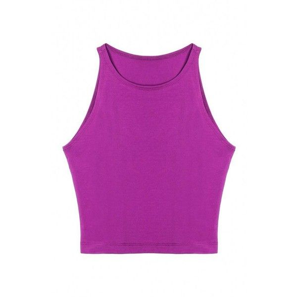 Yoins Yoins Purple Crop Top ($7.19) ❤ liked on Polyvore featuring tops, purple, shirts & tops, sports shirts, crop shirts, purple top, crop top and leather shirt