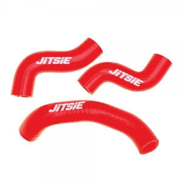 Tubi radiatore in materiale siliconico colore rosso per Beta Evo 2 tempi