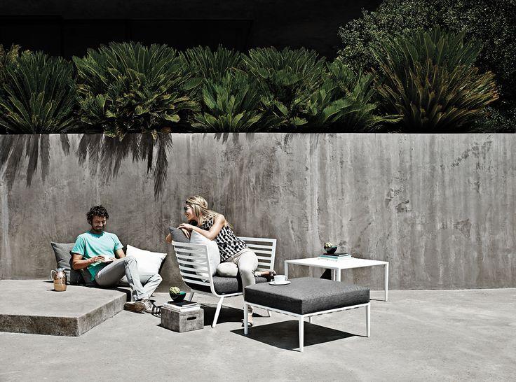 Vista Lounge   Salons Outdoor Modulables Haut De Gamme Inspirés Par Le  Style Des Yachts De La Riviera Française. Gloster