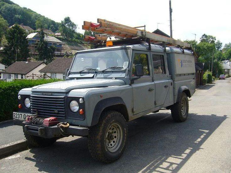 Land Rover Defender 127 Quadtech