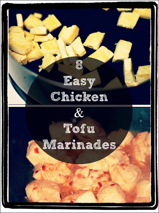 easy tofu marinades @fannetasticfood