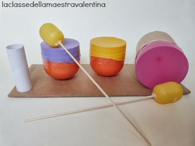 strumenti musicali riciclando uova di plastica - musical instruments upcycling plastic eggs