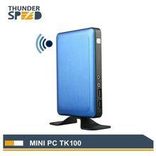 2017 Newest Mini PC Windows 10 Linux Ubuntu Mini Computer Quad Core TV BOX 2G RAM 32G SSD Wifi Bluetooth VGA HDMI Hot Sale
