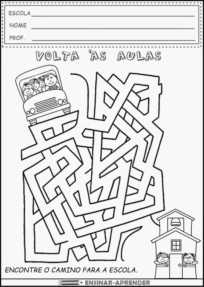 CONFIRA ATIVIDADES DE VOLTA ÀS AULAS                              …