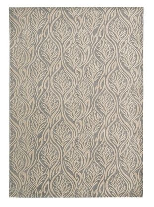 70% OFF Kathy Ireland Home Paradise Cove Rug (Light Grey)