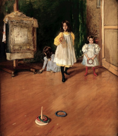 William Merritt Chase, Ring Toss, 1896.