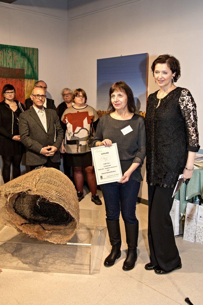 Joanna Alexandrowicz - II miejsce Konkurs Muza 2015 - Magdalena Abakanowicz