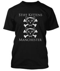 BathroomWall T-shirts -  Joy Division inspired  - Stiff Kittens