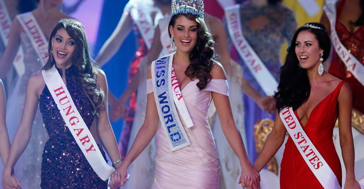 South Africa's Rolene Strauss was named Miss World 2014 on Sunday. Edina Kulcsar of Hungary was the runner-up and Elizabeth Safrit of the United States took third place.