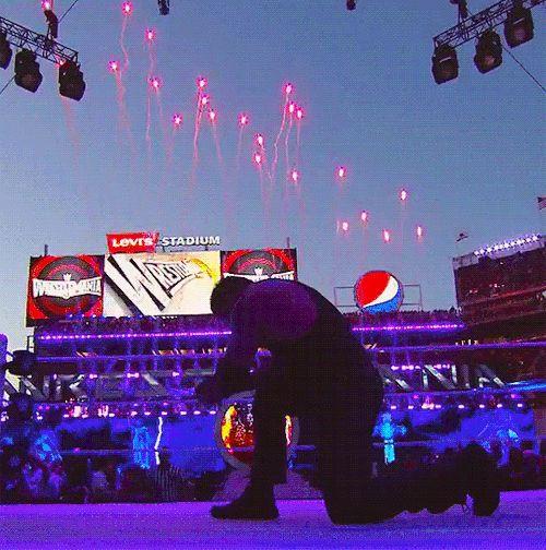 Deadman forever.  #WWE #TheUndertaker #Wrestlemania
