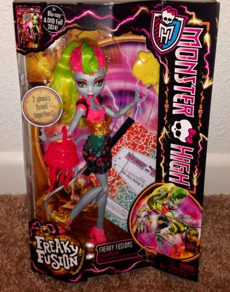 Monster High Freakie Fusion Lagoonafire NEW Just Released IN HAND #MonsterHigh