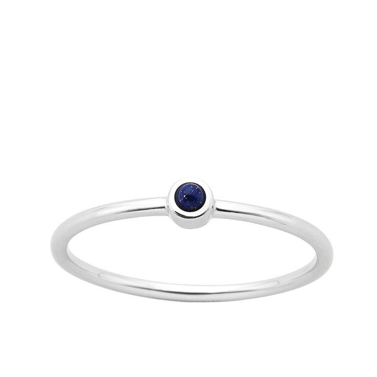 Karen Walker sterling silver Fine orbit ring size M