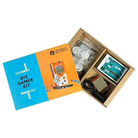 Buy Technology Will Save Us DIY Gamer Kit, Without Arduino Online at johnlewis.com