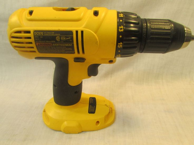 """Check out this deal Dewalt DC970 1/2"""" 18V Cordless Drill Driver (Tool Only) $ave some Green"""