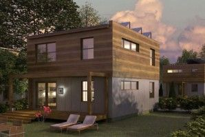 3 BR: Greenfab Modular home design. 1700 sq. feet