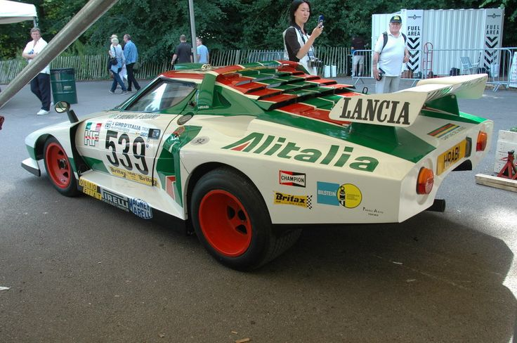 Lancia Stratos Turbo Gr 5